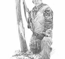 field scientist 11 drawing by Mike Theuer
