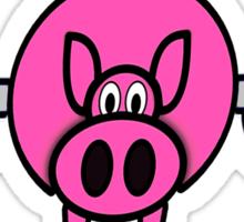 Pigs Fly Fine Sticker
