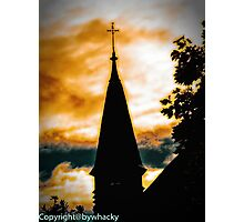 Ooher church again Photographic Print