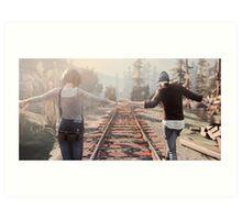 Life is Strange Rail Road Art Print