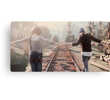 Life is Strange Rail Road Canvas Print