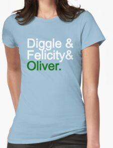 Team Arrow Womens Fitted T-Shirt
