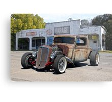 1935 Chevrolet RIP Coupe 'Rat in Process' Metal Print