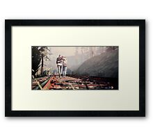 Life is Strange Chloe/Max Framed Print