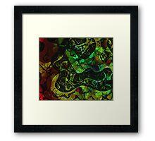Abstract DM 03 Framed Print