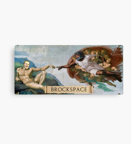 The Creation of Brock Canvas Print