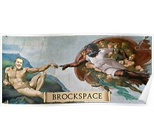 The Creation of Brock Poster