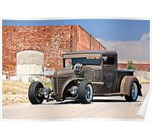 1934 Ford 'Six Pack Rat' Pickup Poster
