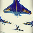 Blue Angels by LeahS