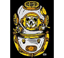 Diving Helmet Photographic Print