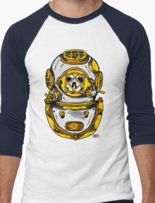 Diving Helmet Men's Baseball ¾ T-Shirt