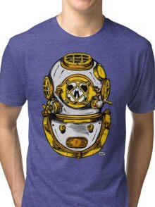 Diving Helmet Tri-blend T-Shirt