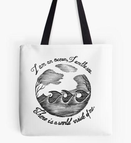 I am an ocean (lyrics) Tote Bag