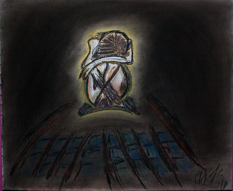 lost in despair... by Christina Rodriguez