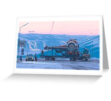 Ship 14 Greeting Card