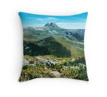 Mountain Summit and Jetstream Throw Pillow