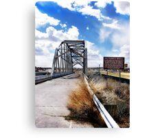 rio puerco bridge, route 66, new mexico Canvas Print
