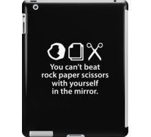You Can't Beat Rock Paper Scissors iPad Case/Skin