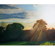 English Countryside Photographic Print