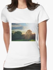 English Countryside Womens Fitted T-Shirt