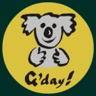 "Koala ""G'day!"" by Ron Marton"