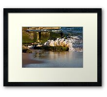 Little Explosion - Beachcomber Series Framed Print