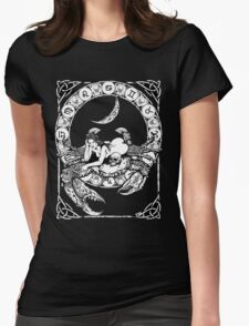 Zombstrology: Cancer Womens Fitted T-Shirt