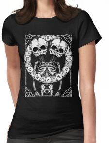 Zombstrology: Gemini Womens Fitted T-Shirt