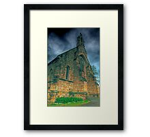 A mighty fortress is our god Framed Print