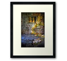 Stoned Worm! Framed Print