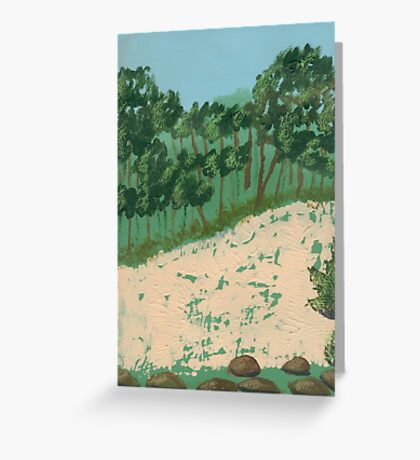 Hillside Greeting Card