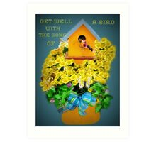 Get Well Wishes Art Print
