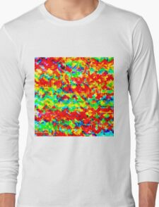 Mixed paint Long Sleeve T-Shirt