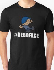 Calvin-Styled #Deboface T-Shirt
