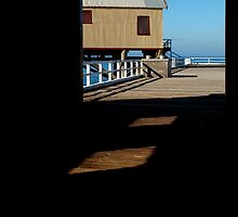 Boat Sheds by Joe Mortelliti