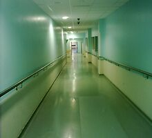 Hospital Corridor by mattupchuck
