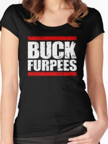 Buck Furpees Gym motivation Workout Women's Fitted Scoop T-Shirt
