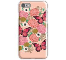 Monarch Florals by Andrea Lauren  iPhone Case/Skin