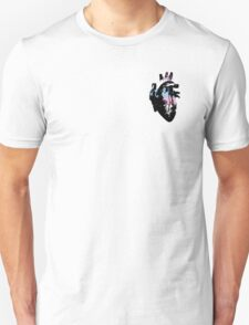 Intersex Pride Heart (With black Detailing) T-Shirt