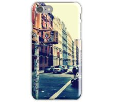 SoHo Street Corner iPhone Case/Skin