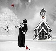 The Fiddler... by Karen  Helgesen