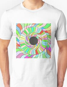 Colorful whirlpool abstract design T-Shirt