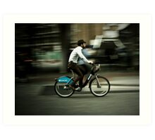 boris bike Art Print