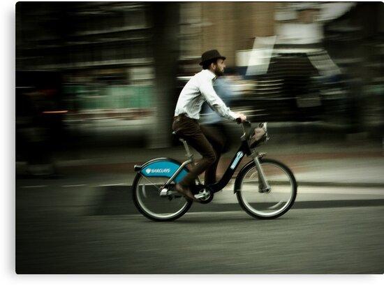 boris bike by Tony Day