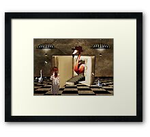 Tell Me Your Story... Framed Print