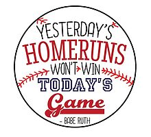 Homeruns and Life by graphicloveshop