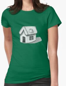 Naive Thatched House Sketch T-Shirt
