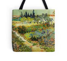 Van Gogh - Garden at Arles Tote Bag