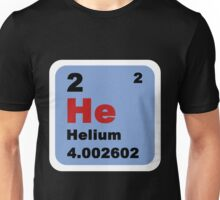 Periodic Table of Elements: No. 2 helium Unisex T-Shirt