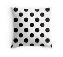 Polka Dots 1 Throw Pillow